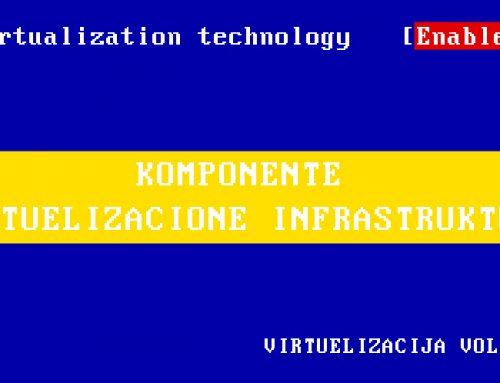 Komponente virtuelizacione infrastrukture